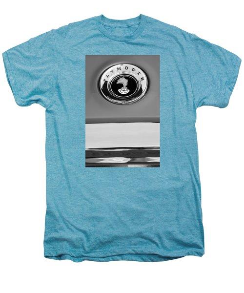 1967 Plymouth Gtx Emblem -0206bw Men's Premium T-Shirt