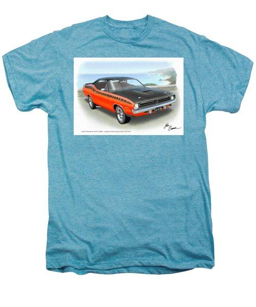 1970 Barracuda Aar  Cuda Classic Muscle Car Men's Premium T-Shirt