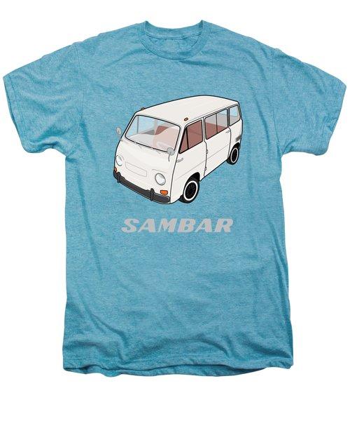 1970 Subaru Sambar Van Men's Premium T-Shirt