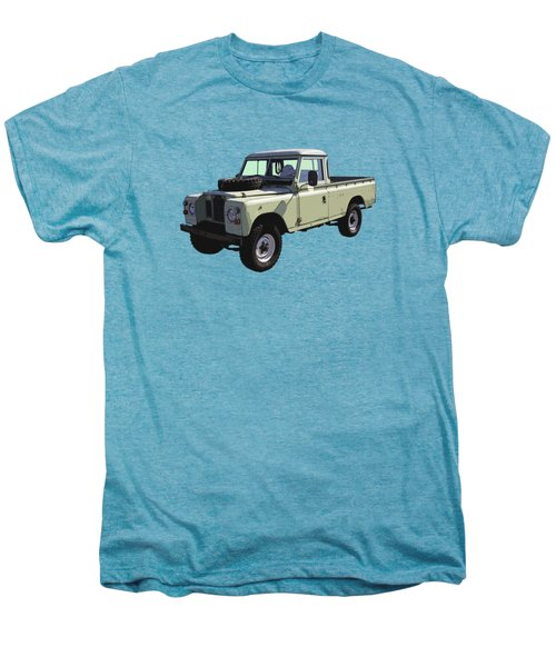 1971 Land Rover Pickup Truck Men's Premium T-Shirt by Keith Webber Jr