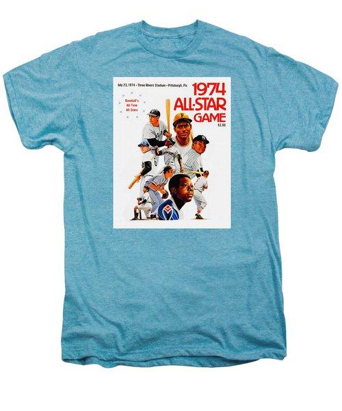 1974 Baseball All Star Game Program Men's Premium T-Shirt
