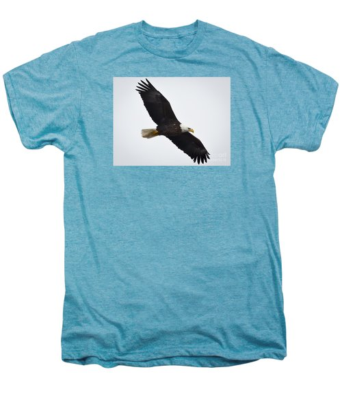 Men's Premium T-Shirt featuring the photograph Bald Eagle by Ricky L Jones