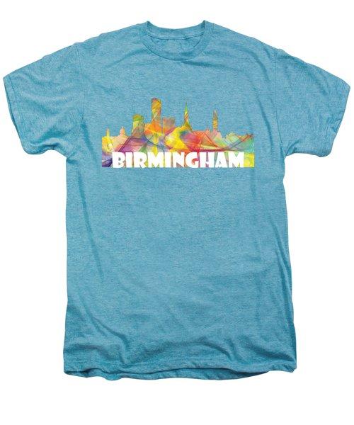 Birmingham England Skyline Men's Premium T-Shirt