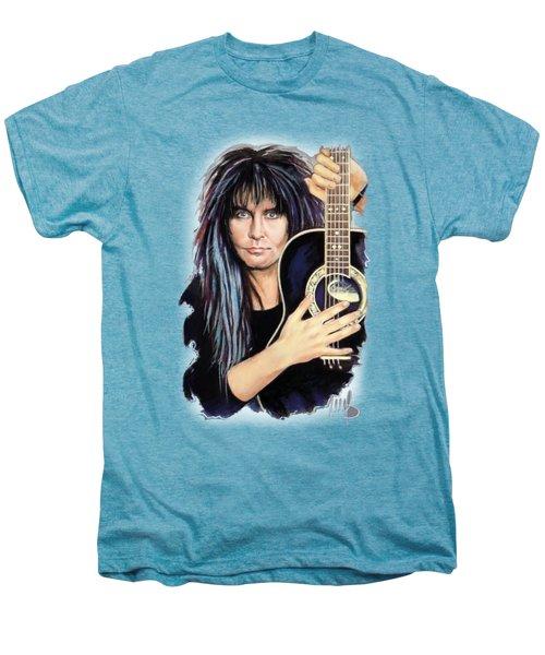 Blackie Lawless Men's Premium T-Shirt by Melanie D