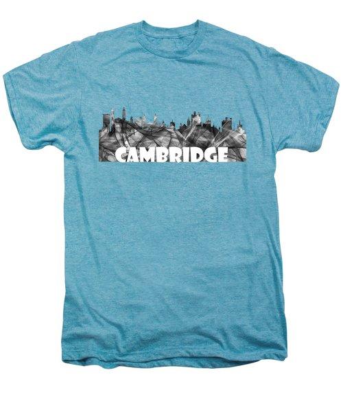 Cambridge England Skyline Men's Premium T-Shirt