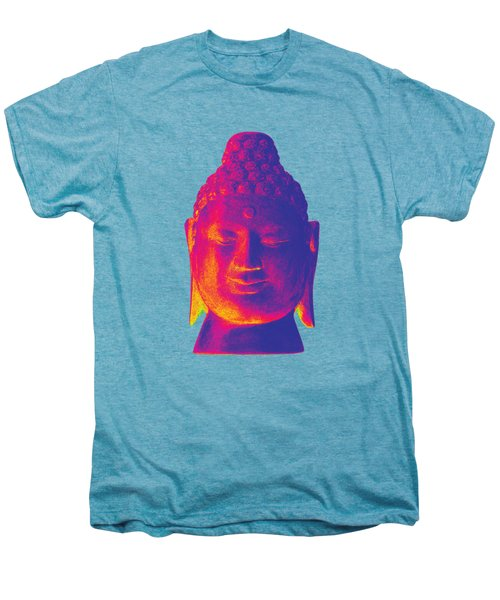 colorful Buddha - Borobudur Men's Premium T-Shirt by Terrell Kaucher