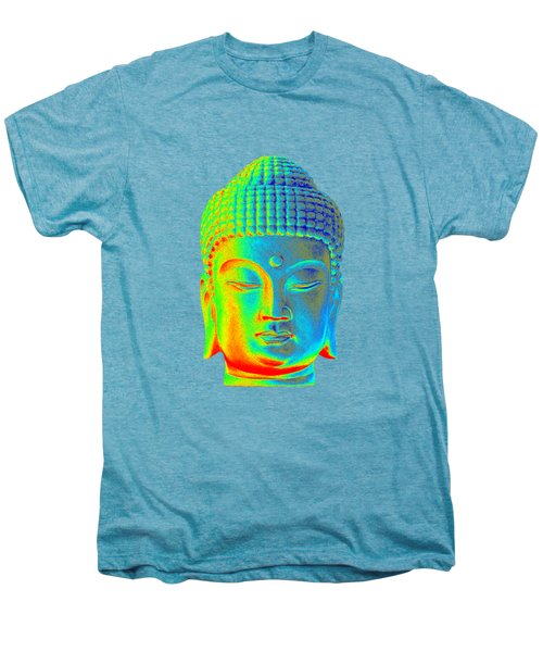 colorful Buddha - Korean Men's Premium T-Shirt by Terrell Kaucher