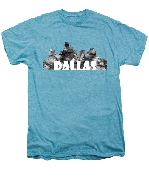Dallas Texas Skyline Men's Premium T-Shirt by Marlene Watson