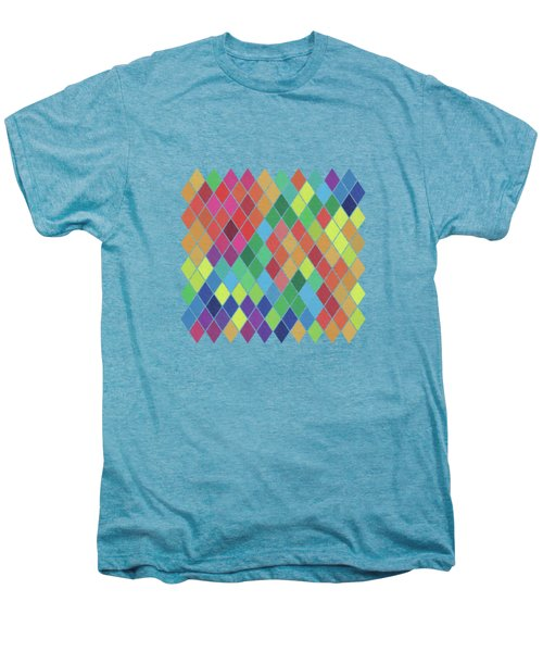Geometric Background Men's Premium T-Shirt