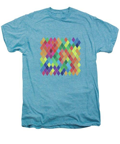 Geometric Background Men's Premium T-Shirt