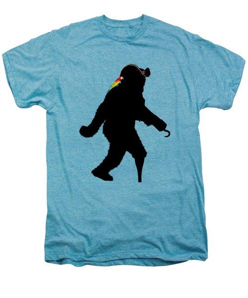 Gone Squatchin Fer Buried Treasure Men's Premium T-Shirt by Gravityx9  Designs