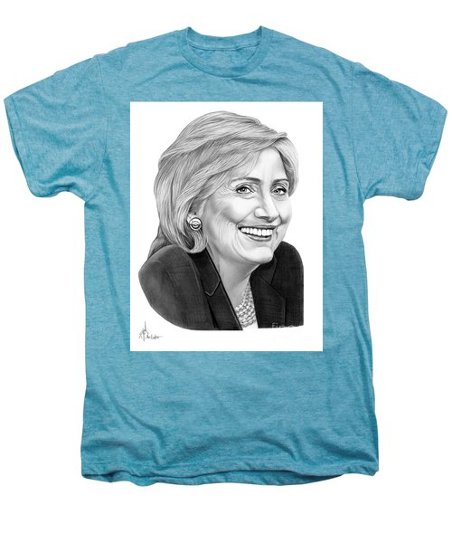 Hillary Clinton Men's Premium T-Shirt by Murphy Elliott