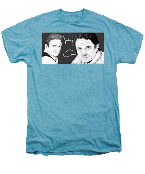 Johnny Cash Men's Premium T-Shirt by Bill Richards
