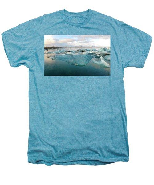 Jokulsarlon The Glacier Lagoon, Iceland 2 Men's Premium T-Shirt