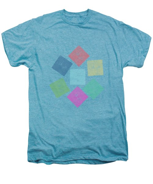 Lovely Geometric Background Men's Premium T-Shirt