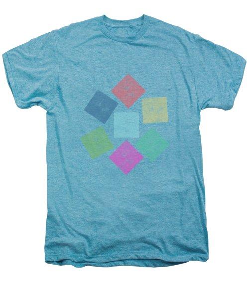 Lovely Geometric Background Men's Premium T-Shirt