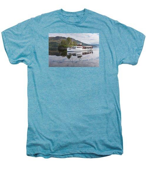 Steamship Sir Walter Scott On Loch Katrine Men's Premium T-Shirt