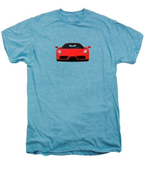 The Ferrari Enzo Men's Premium T-Shirt by Mark Rogan