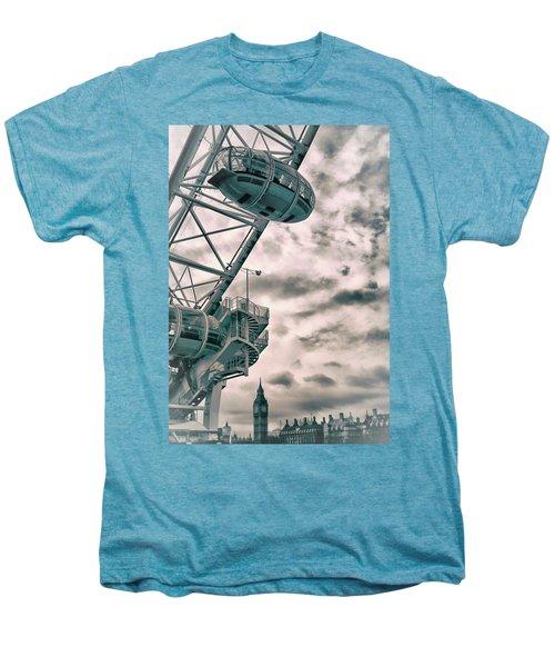 The London Eye Men's Premium T-Shirt by Martin Newman