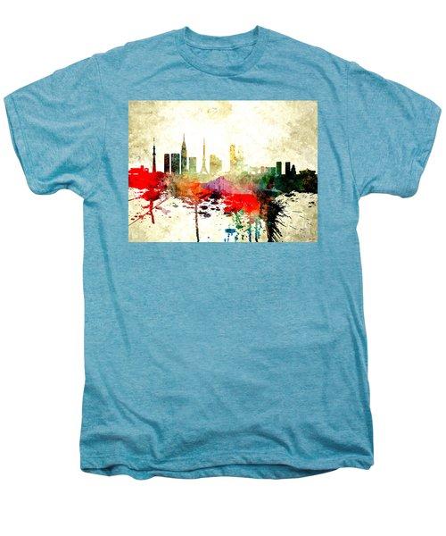 Tokyo Men's Premium T-Shirt by Daniel Janda