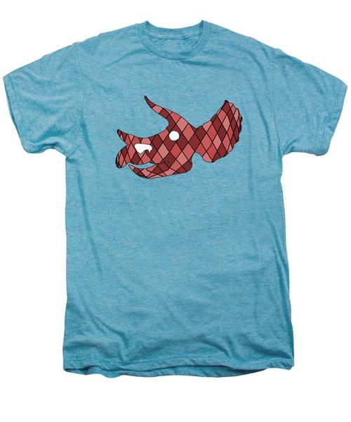 Triceratops Skull Men's Premium T-Shirt by Mordax Furittus