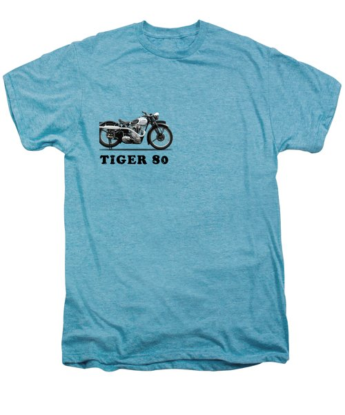 Triumph Tiger 80 1937 Men's Premium T-Shirt by Mark Rogan