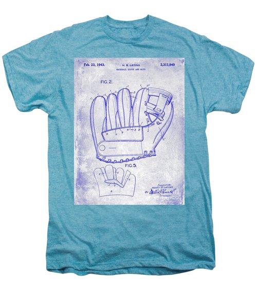 1943 Baseball Glove Patent Men's Premium T-Shirt by Jon Neidert
