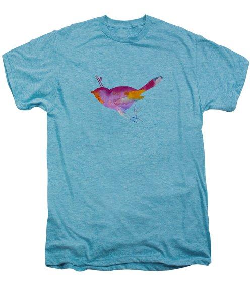 Chickadee Men's Premium T-Shirt by Mordax Furittus
