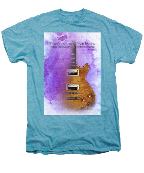 Darius Rucker Inspirational Quote, Electric Guitar Poster For Music Lovers And Musicians Men's Premium T-Shirt