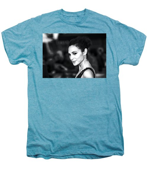 Gal Gadot Print Men's Premium T-Shirt by Best Actors