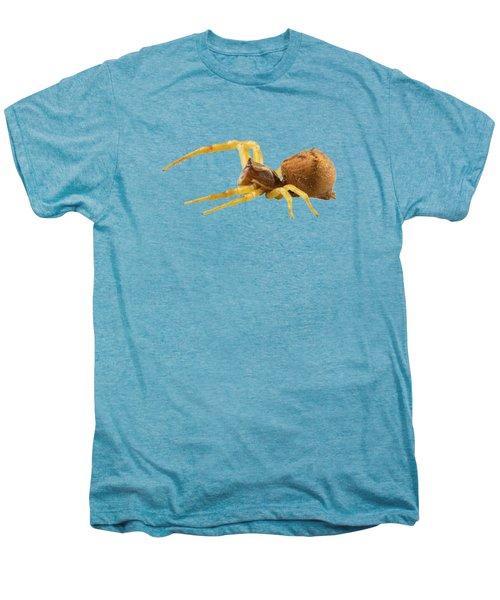 goldenrod crab spider species Misumena vatia Men's Premium T-Shirt