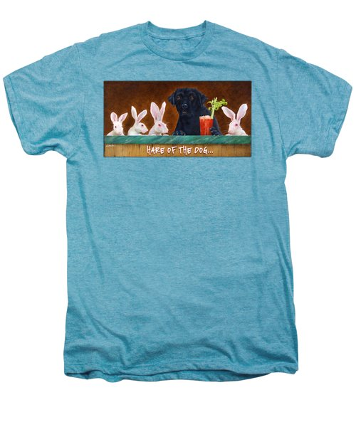 Hare Of The Dog... Men's Premium T-Shirt by Will Bullas