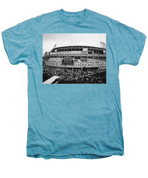 High Angle View Of Tourists Men's Premium T-Shirt by Panoramic Images