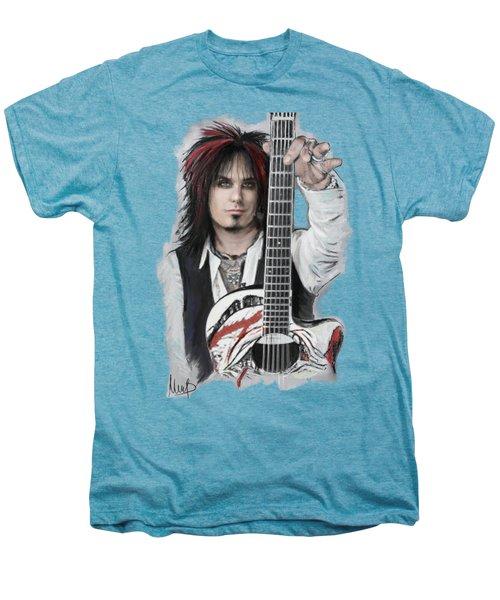 Nikki Sixx Men's Premium T-Shirt by Melanie D