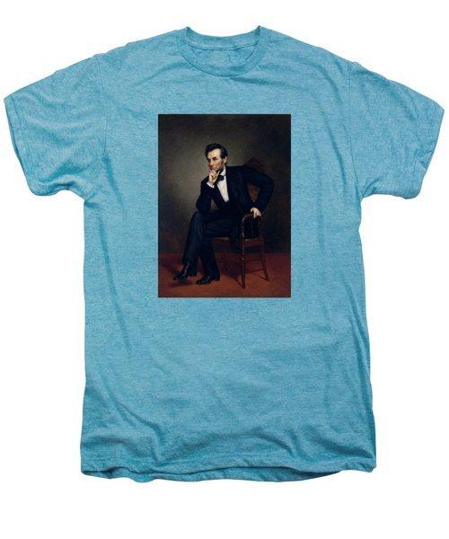 President Abraham Lincoln Men's Premium T-Shirt