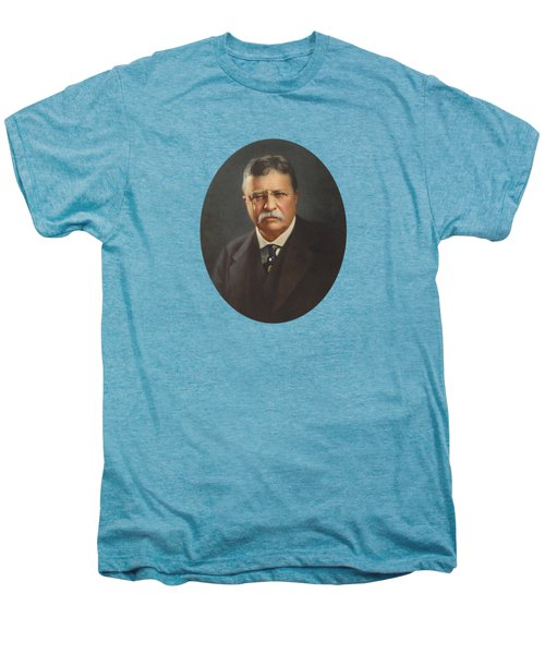 President Theodore Roosevelt  Men's Premium T-Shirt by War Is Hell Store
