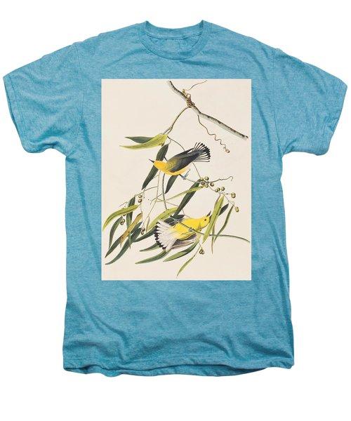 Prothonotary Warbler Men's Premium T-Shirt by John James Audubon