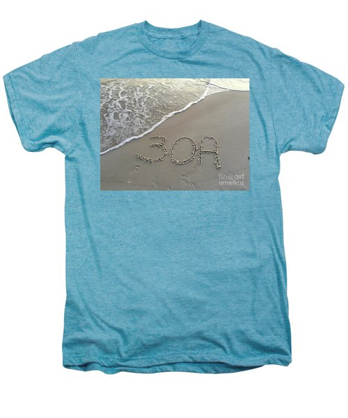 30a Beach Men's Premium T-Shirt by Megan Cohen