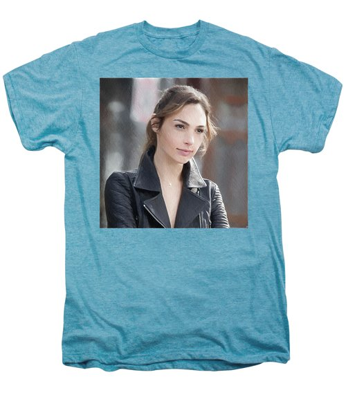 Gal Gadot Art Men's Premium T-Shirt