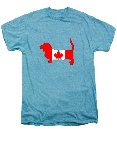 Basset Hound  Men's Premium T-Shirt by Mordax Furittus