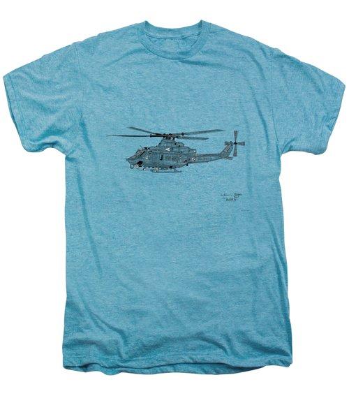 Bell Helicopter Uh-1y Venom Men's Premium T-Shirt by Arthur Eggers