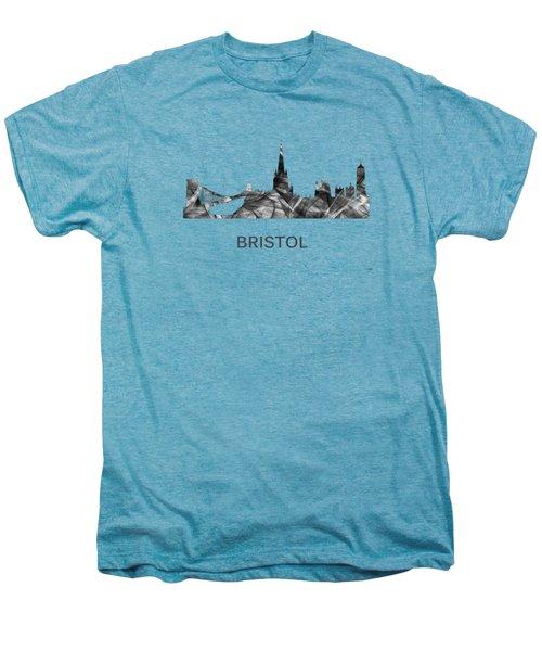 Bristol England Skyline Men's Premium T-Shirt