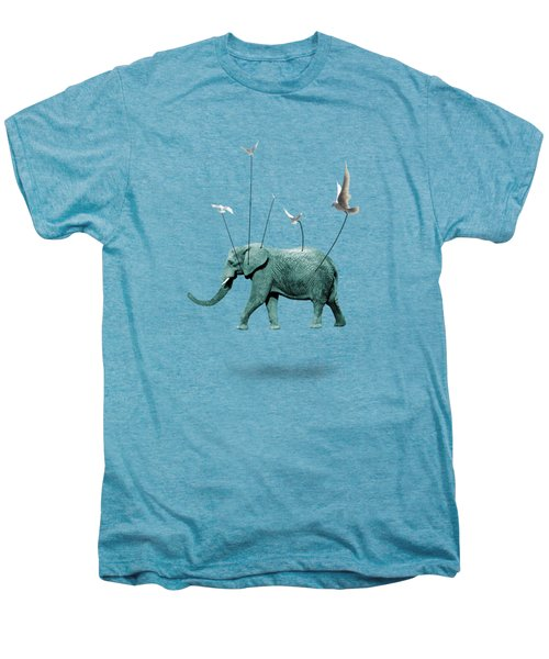 Elephant Men's Premium T-Shirt by Mark Ashkenazi