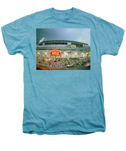 High Angle View Of Tourists Men's Premium T-Shirt
