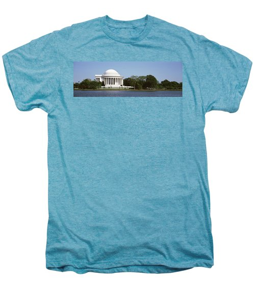 Jefferson Memorial, Washington Dc Men's Premium T-Shirt by Panoramic Images