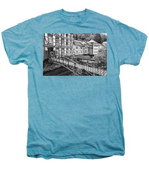 Monschau In Germany Men's Premium T-Shirt by Jeremy Lavender Photography