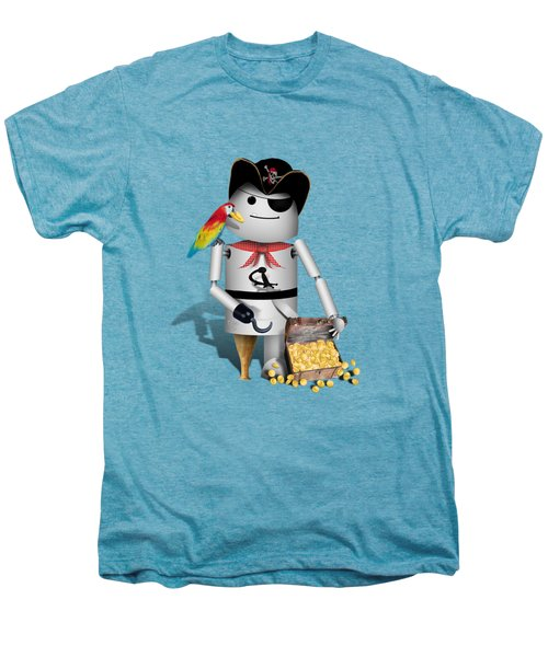Robo-x9 The Pirate Men's Premium T-Shirt by Gravityx9  Designs