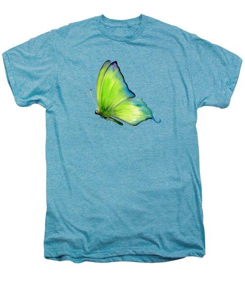 4 Skip Green Butterfly Men's Premium T-Shirt