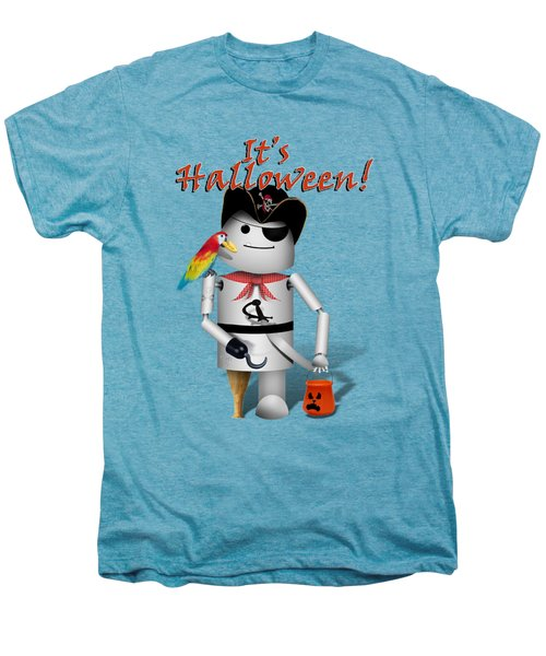 Trick Or Treat Time For Robo-x9 Men's Premium T-Shirt by Gravityx9 Designs