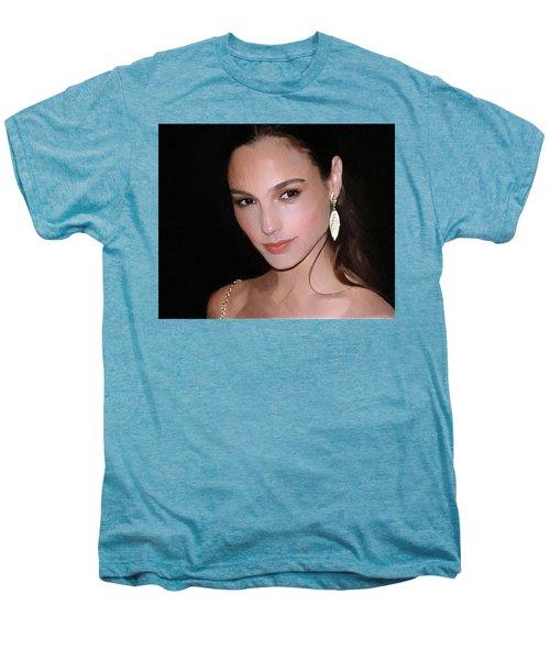 Gal Gadot Men's Premium T-Shirt by Best Actors